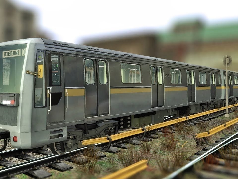 Вагон метро Яуза 81-720-721